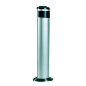 Columna aluminio fotocelulas